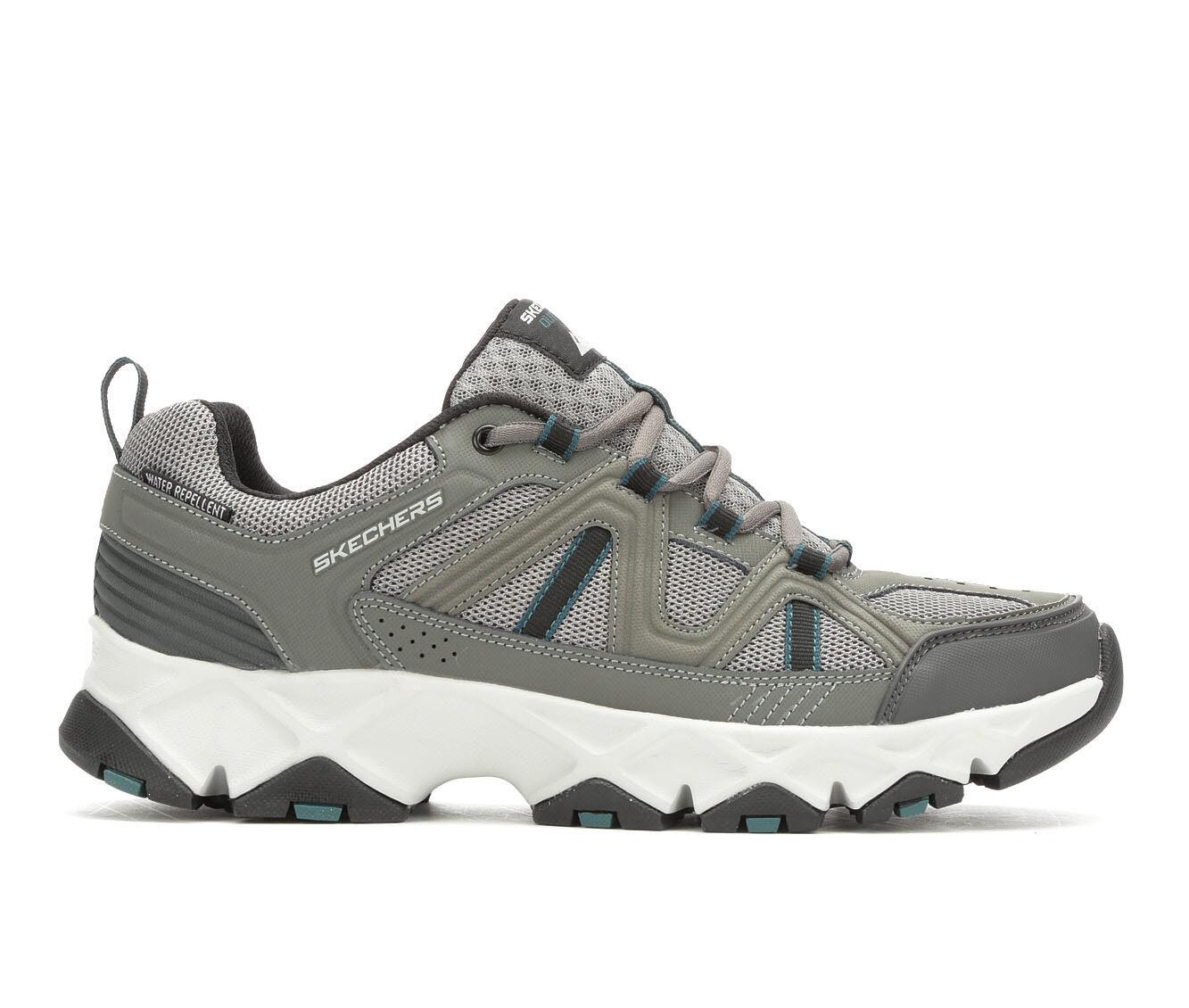 Men's Skechers Crossbar 51885 Training Shoes Dk Gy/Bk/Wht