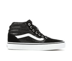 Women's Vans Ward Hi Ombre Glitter Skate Shoes