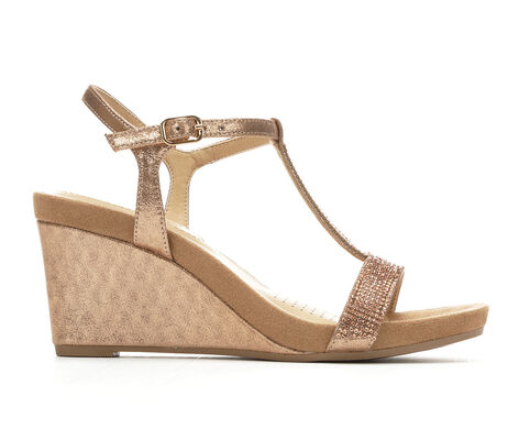 Women's Solanz Krystal Wedge Sandals