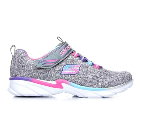 Girls' Skechers Swirly Girl- Shimmer Time 10.5-5 Running Shoes