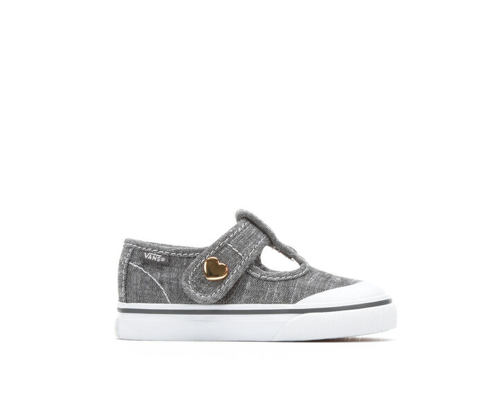 Girls' Vans Infant Leena Velcro Girls 4-10 Sneakers