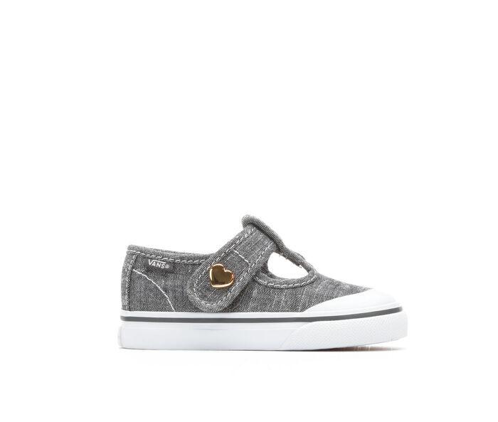 68954258c6196d Images. Girls  39  Vans Infant Leena Velcro Girls 4-10 Sneakers