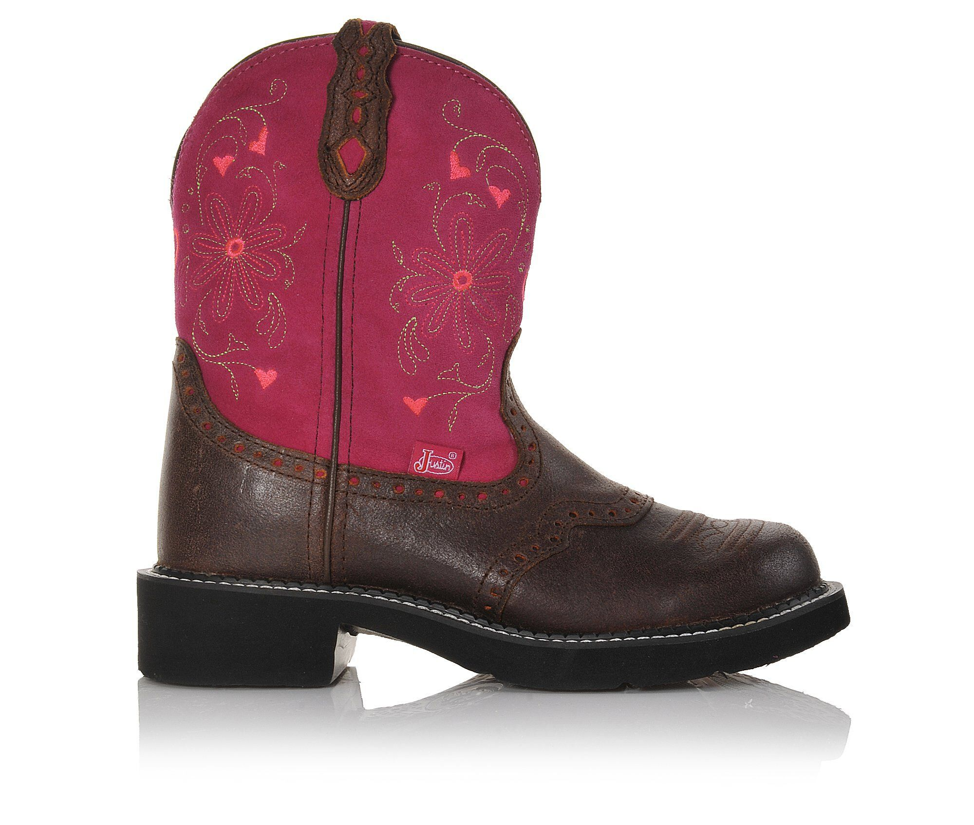 """Women's Justin Boots Gypsy 8"""" Western Boots Hot Pink"""