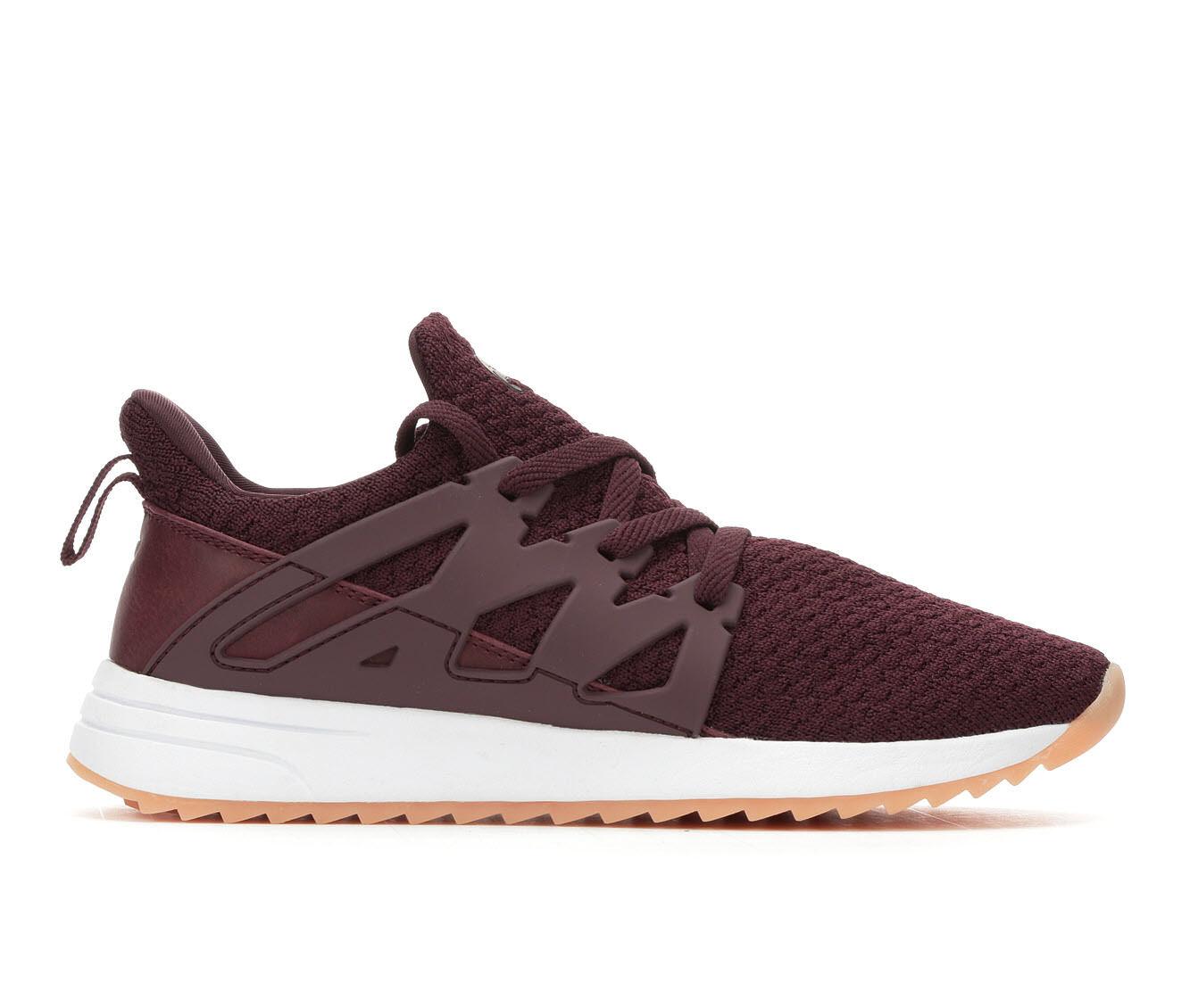 Women's Fabletics Laguna Slip-On Sneakers Burgundy/Gum