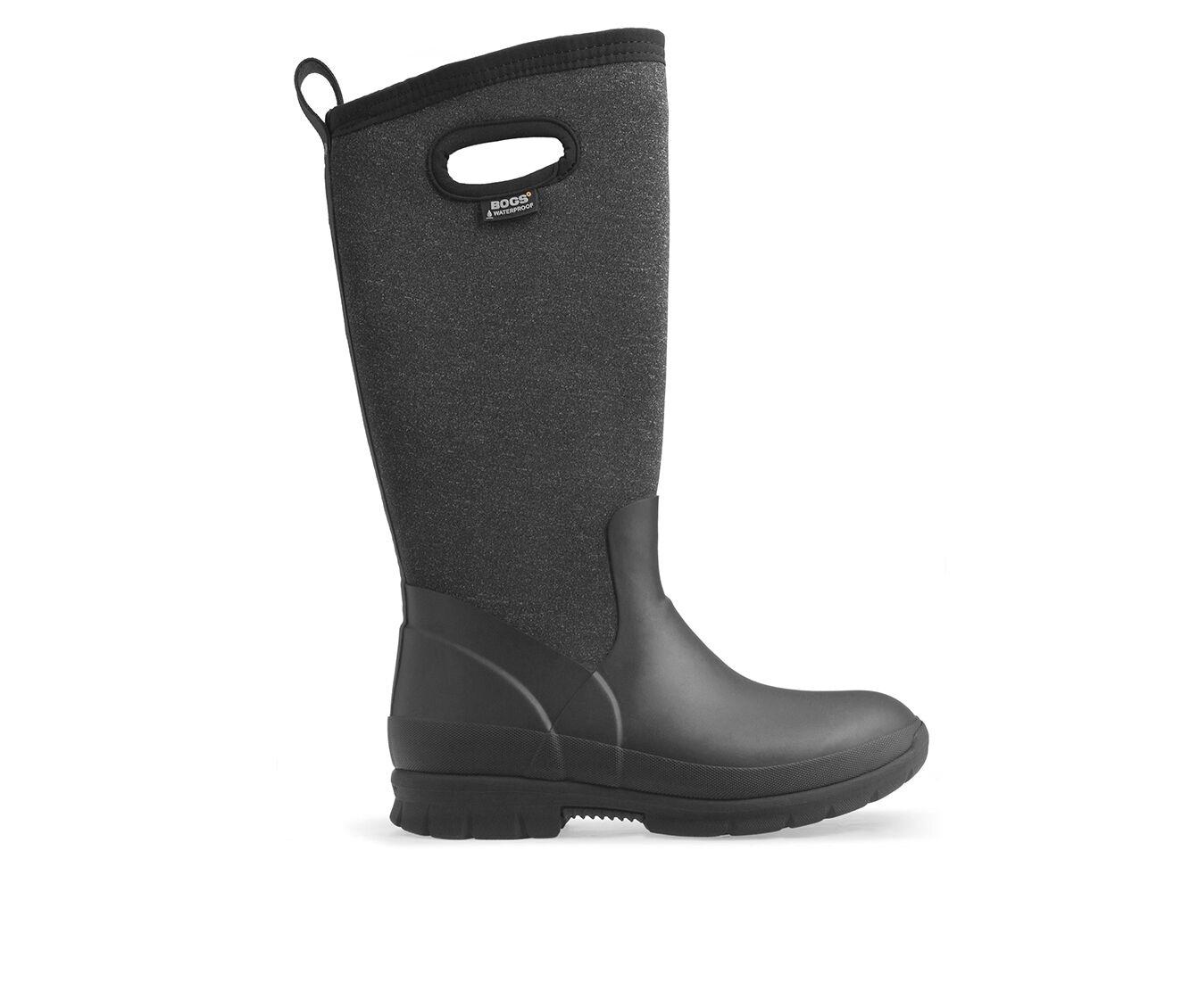 Women's Bogs Footwear Crandall Tall Malange Winter Boots Black Multi