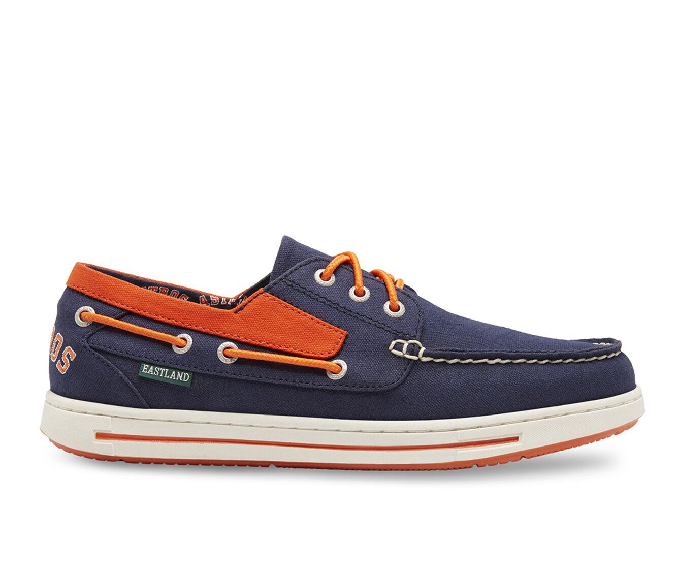 Men's Eastland Adventure MLB Astros Boat Shoes Blue