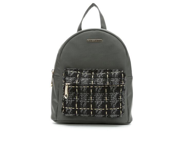 Rampage Plaid Midi Backpack Handbag