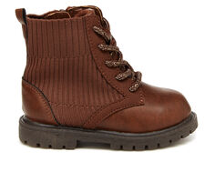 Kids' Carters Infant & Toddler & Little Kid Canna Lace-Up Boots