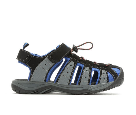 Boys' Khombu Bobby 11-4 Outdoor Velcro Strap Sandals