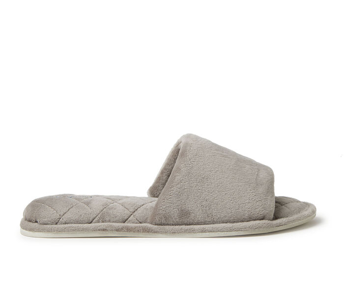 Dearfoams Beatrice Velour Slide Slippers
