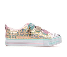 Girls' Skechers Little Kid & Big Kid Mermaid Magic Light-Up Sneakers