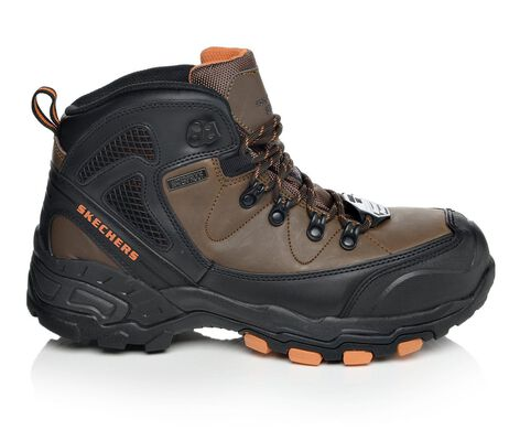 Men's Skechers Work 77081 Surren Steel Toe Work Boots
