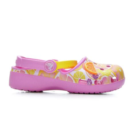 Girls' Crocs Karin Novelty 11-3 Clogs