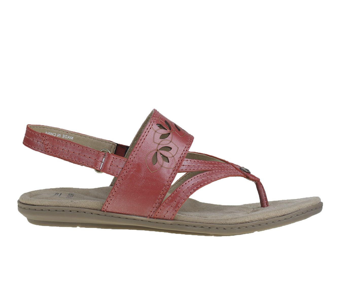 chooes cheap Women's Earth Origins Belle Becky Sandals Bright Red