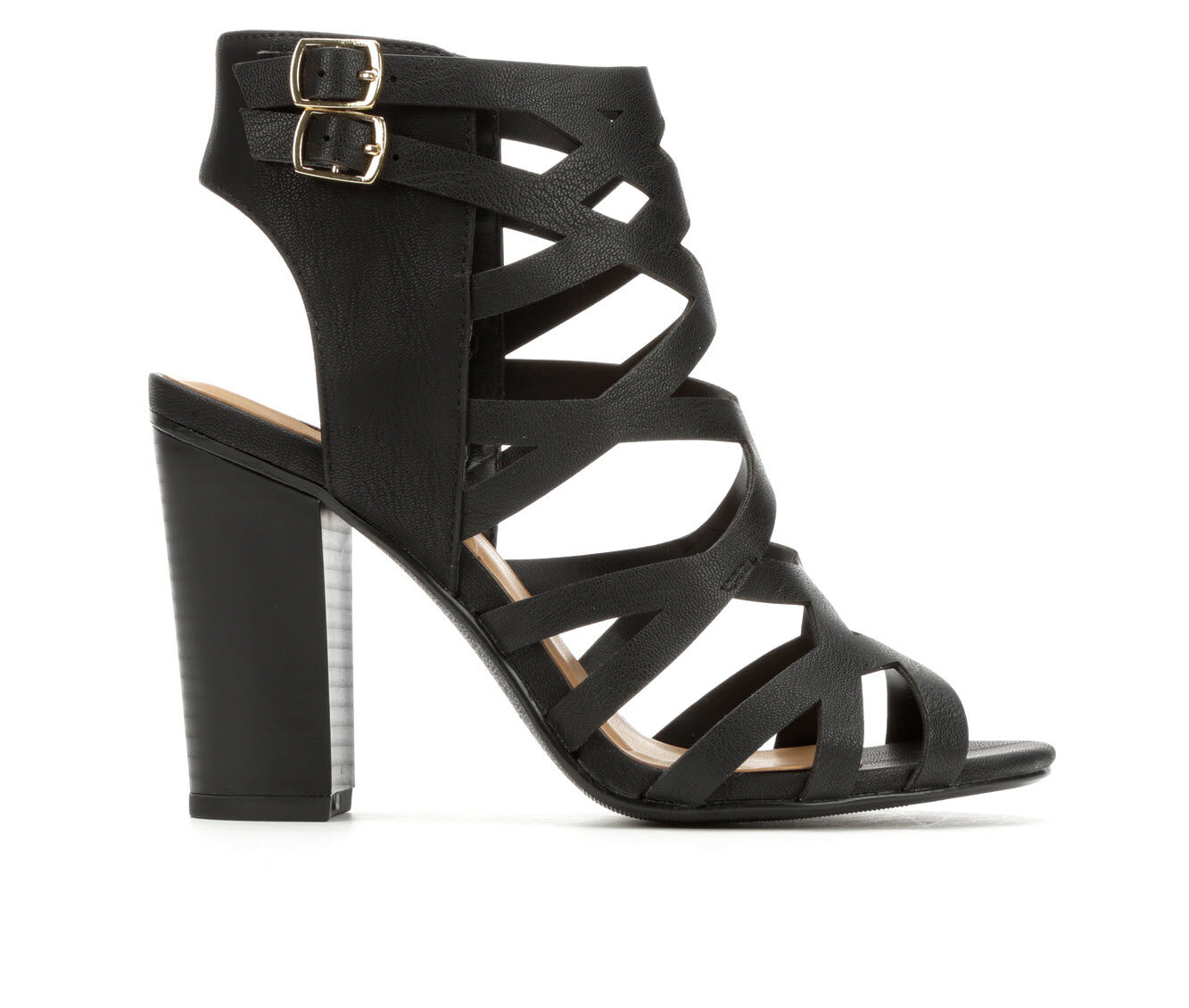 Women's Delicious Country Heeled Sandals Black