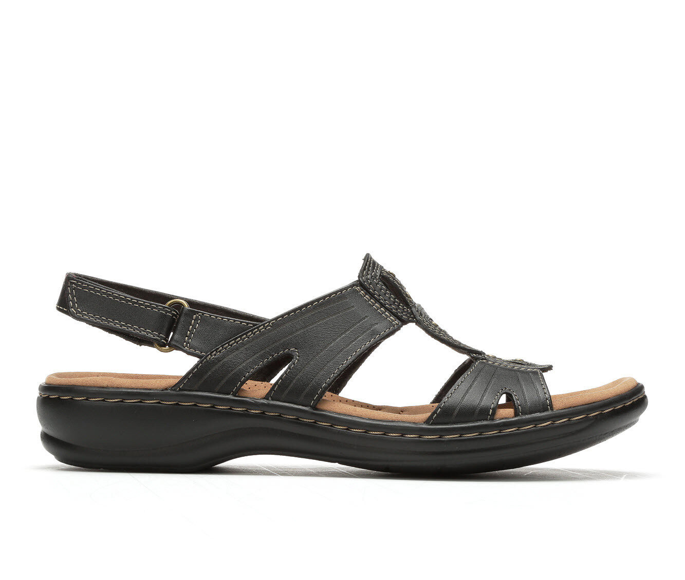 Ladies/Women's Clark Sandals /Slip On Shoes Size 7 Free S/H