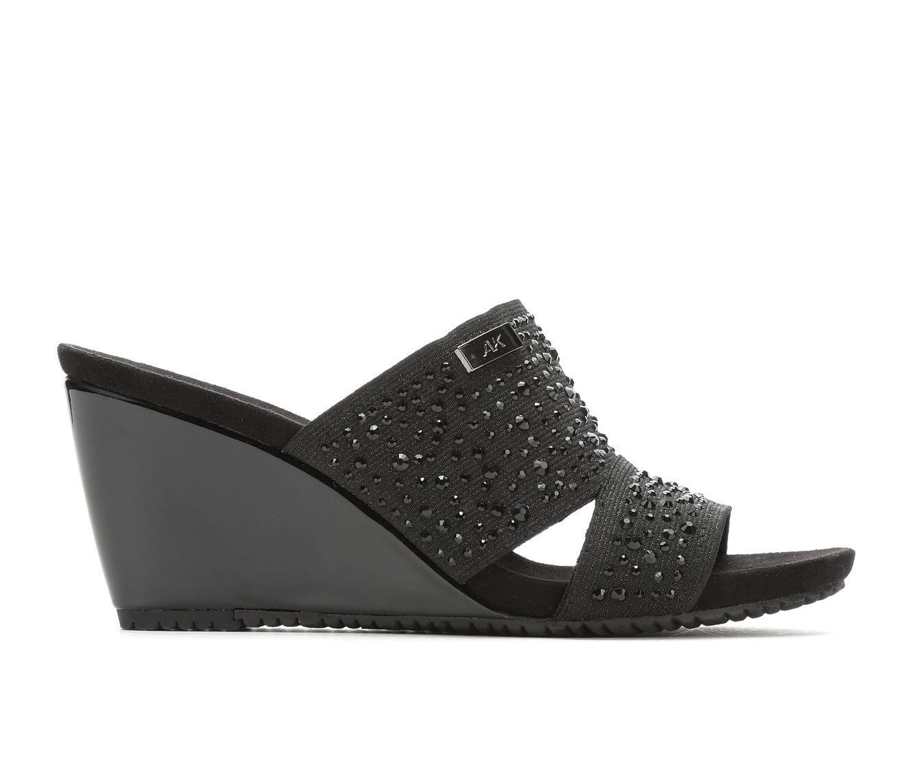 Fashionable Women's Anne Klein Sport Reon Wedges Black