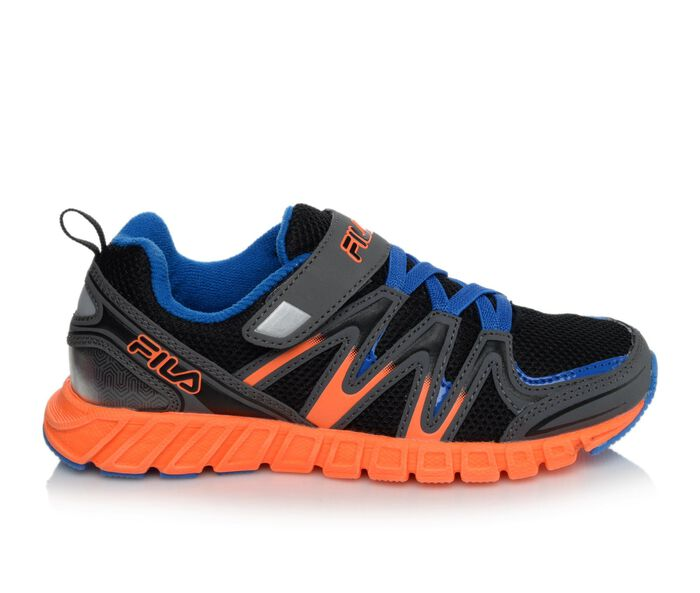Boys' Fila Crater 6 Velcro 10.5-5 Running Shoes
