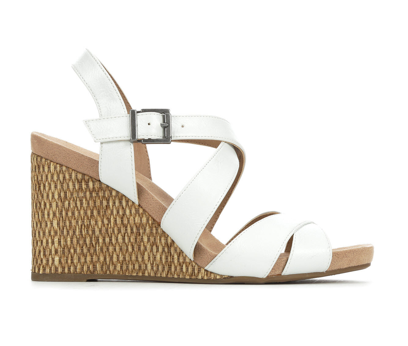 Women's LifeStride Harbor Wedges White