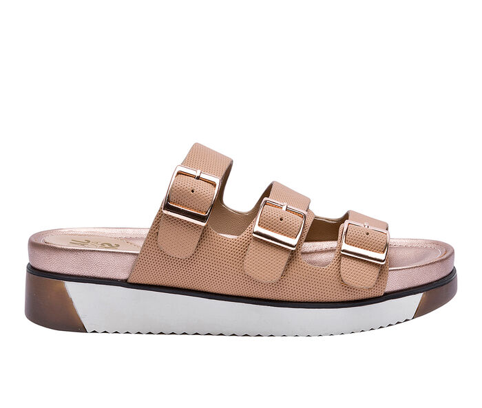 Women's Jane And The Shoe Nola Platform Sandals