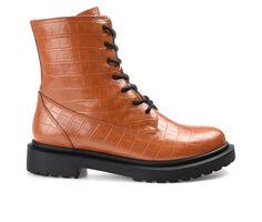 Women's Journee Collection Chandlerr Combat Boots