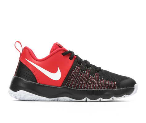 Boys' Nike Team Hustle Quick 3.5-7 Basketball Shoes