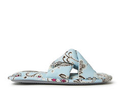 Dearfoams Angela Paisley Twist Slide