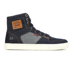 Men's Levis Mason Hi 501 Denim Casual Shoes