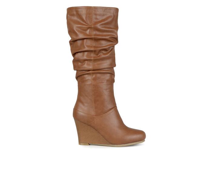 Women's Journee Collection Hana Wide Calf Knee High Boots