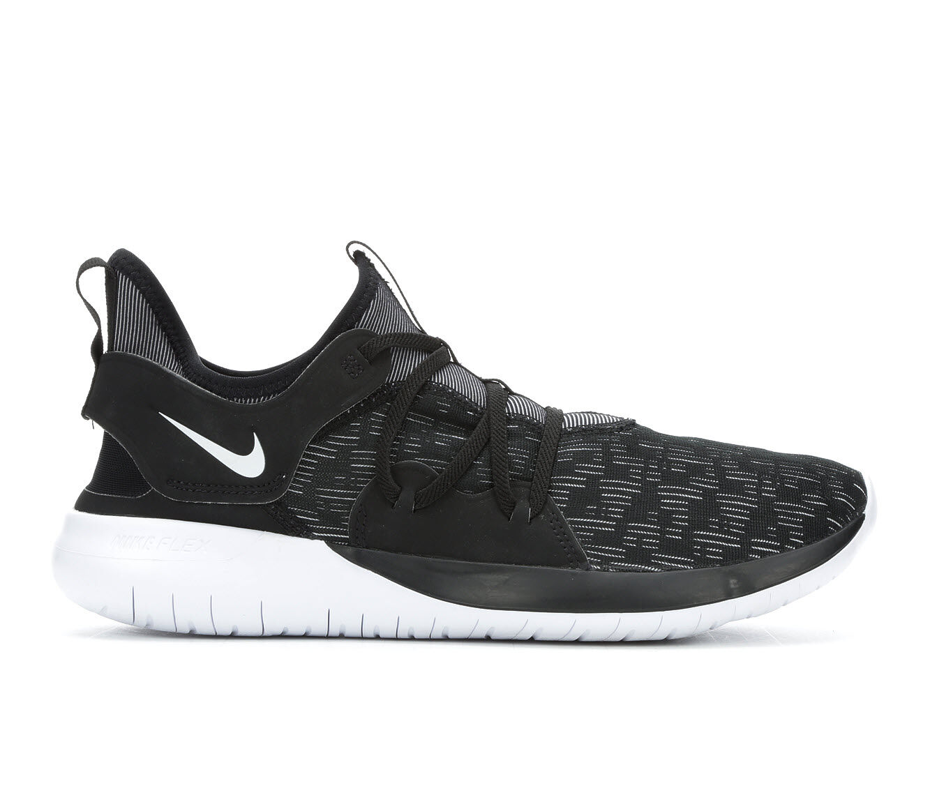 purchase latest style Men's Nike Flex Contact 3 Running Shoes Blk/Wht 004