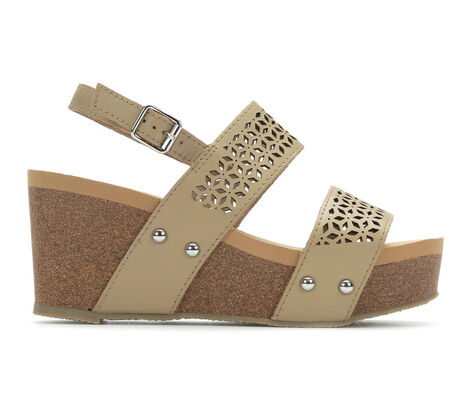 Women's Volatile Danna Cork Wedge Heel Sandals