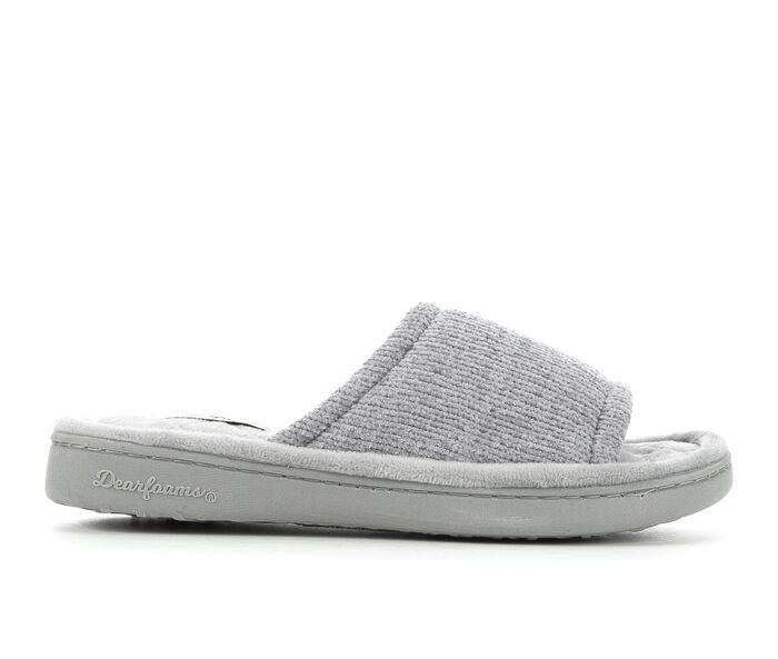 Dearfoams Anne Chenille Slide Slippers