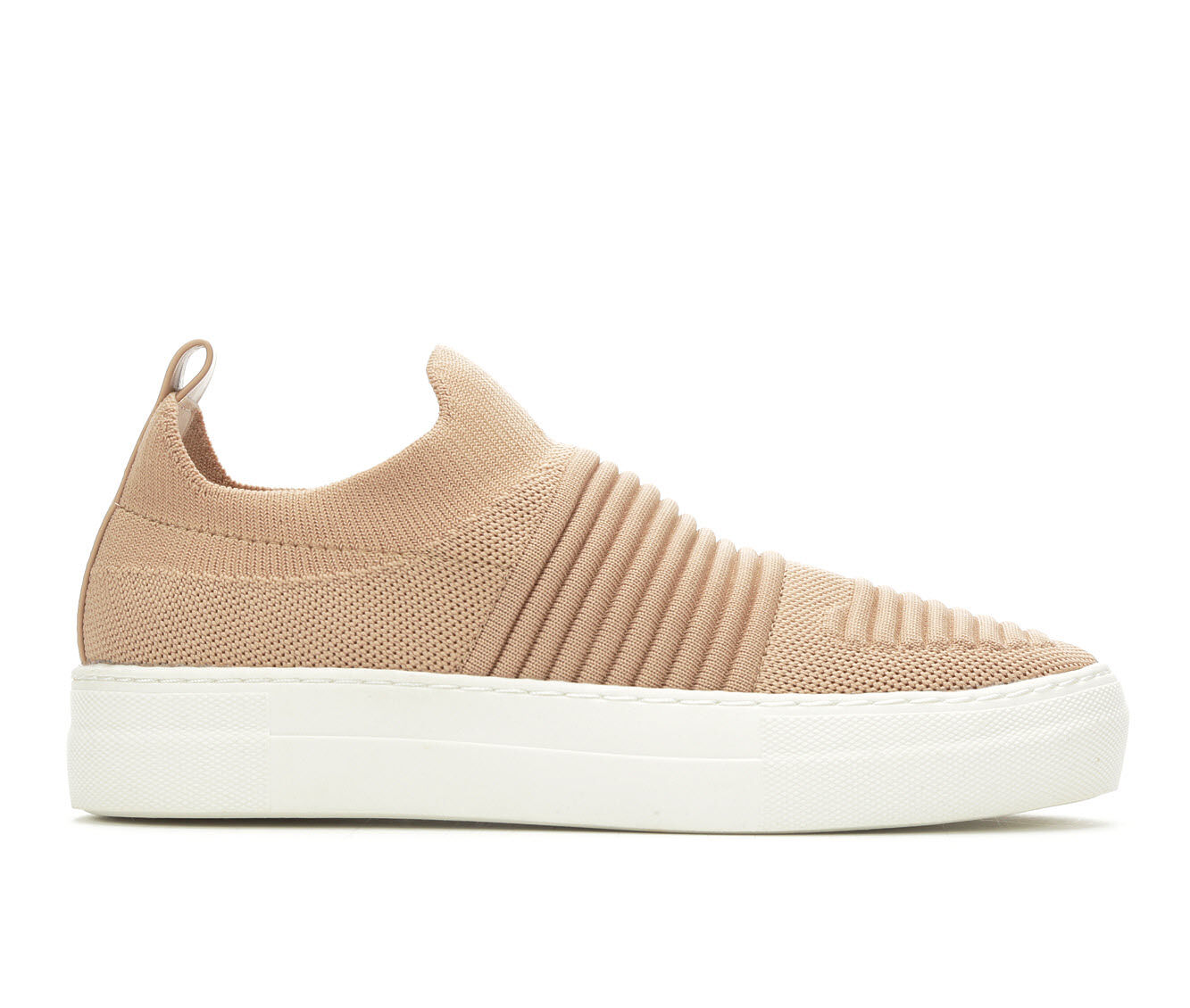best deals Women's Madden Girl Brytney Sneakers Blush Knit
