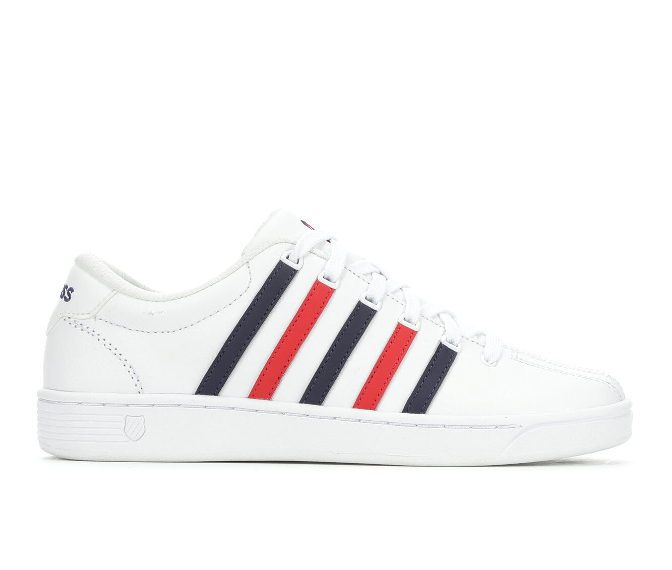 Women's K-Swiss Court Pro II Comfort Retro Sneakers White/Red/Blue