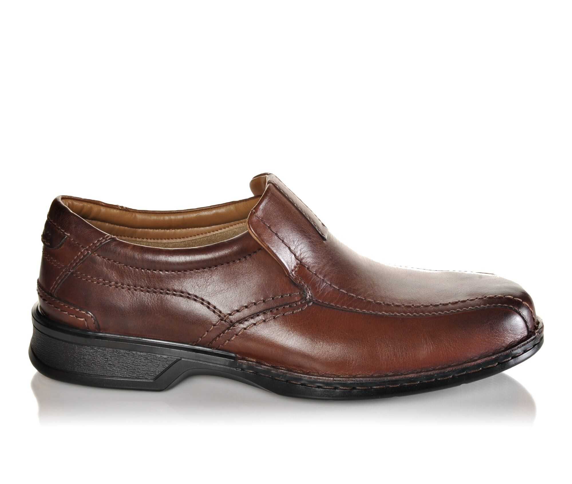 Men's Clarks Escalade Step Slip-On Shoes Brown