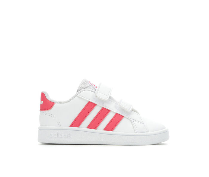 Girls' Adidas Infant & Toddler Grand Court Sneakers