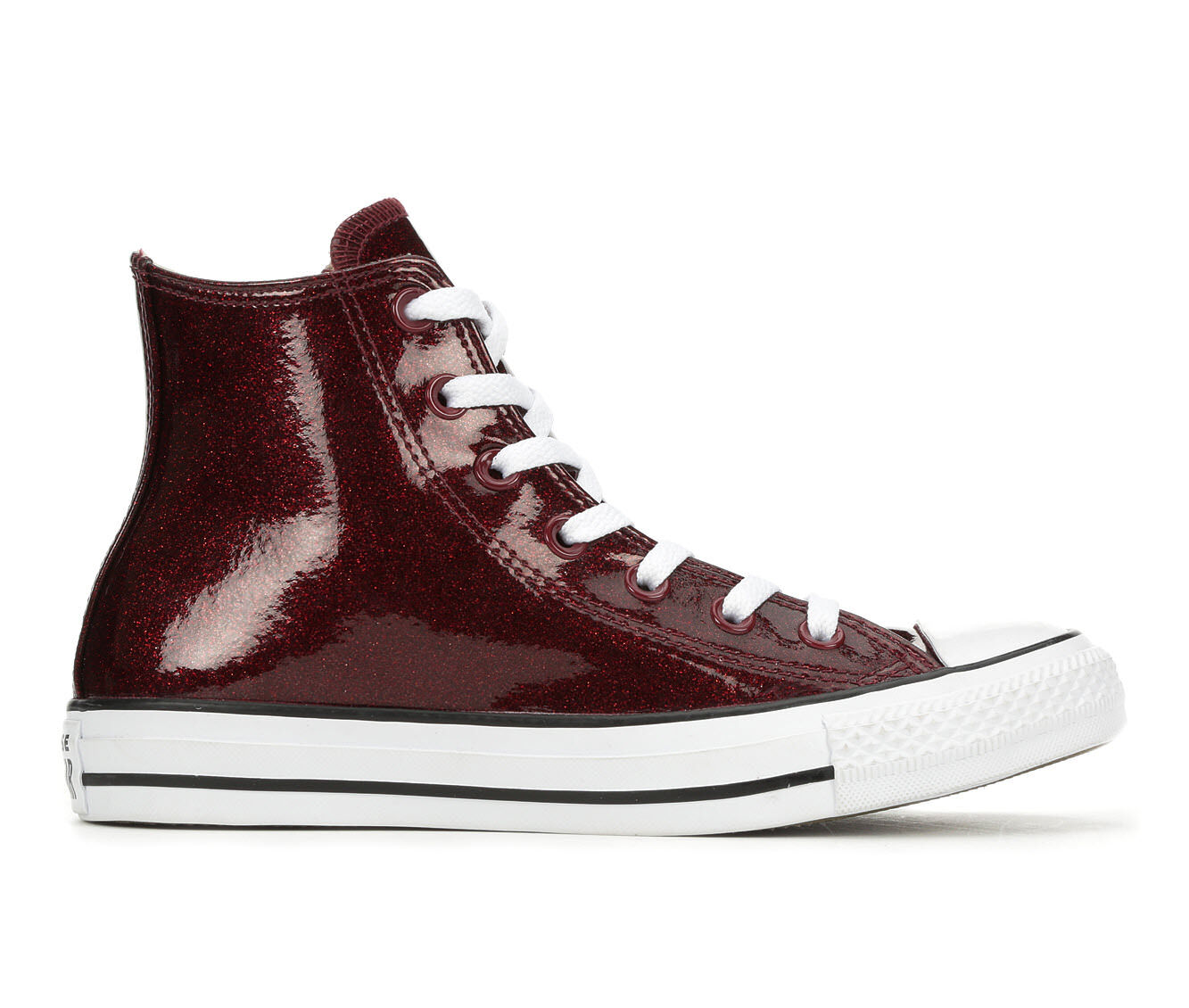Women's Converse After Party Hi Sneakers Burgundy/Wht/Bk