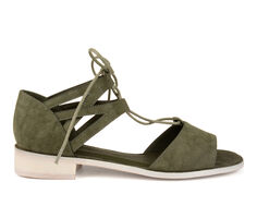 Women's Journee Collection Ingrid Lace-Up Sandals