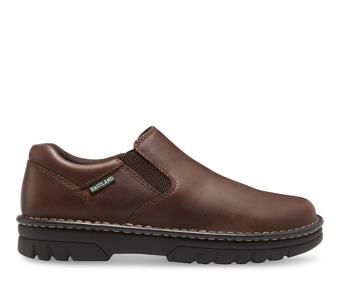 Men's Eastland Newport S/O Slip-On Shoes Brown