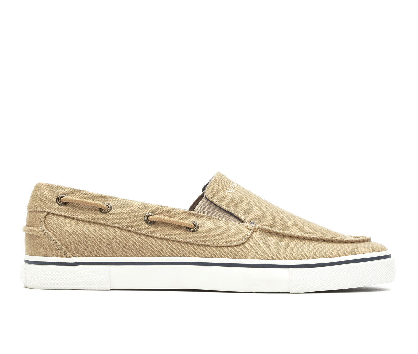 Popular And Cheap Men's Nautica Doubloon Slip On Casual Shoes Costal Camel