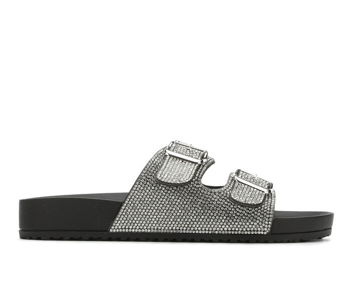 Women's Madden Girl Teddy Footbed Sandals