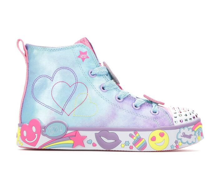 Girls' Skechers Little Kid & Big Kid Positive Princess Light-Up Sneakers