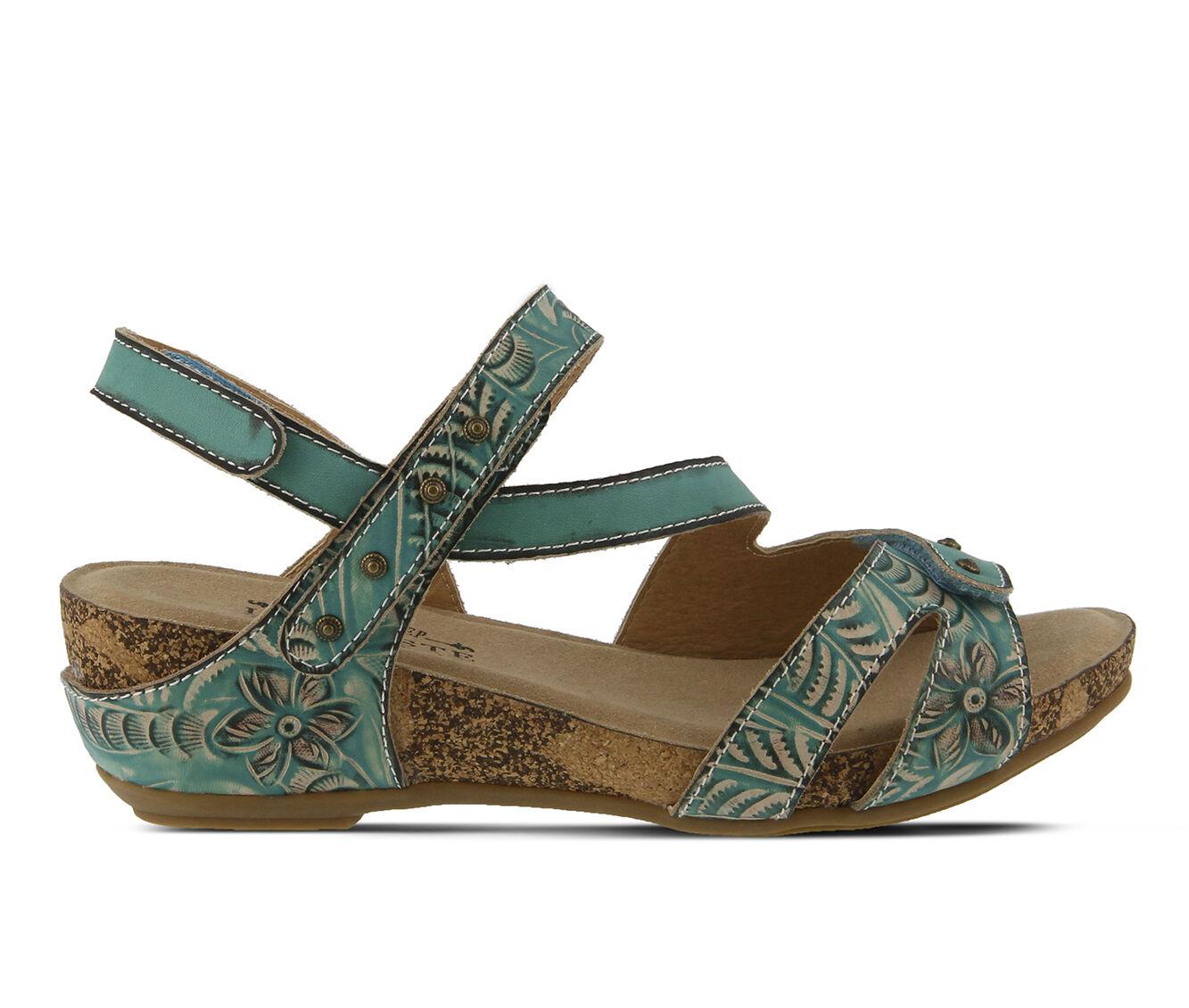 Women's L'ARTISTE Quilana Sandals Turquoise