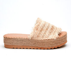 Women's Coconuts Seashell Flatform Sandals