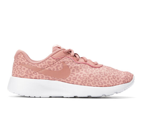 Girls' Nike Tanjun Print 10.5-3 Running Shoes