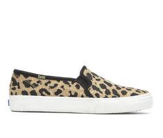 Women's Keds Double Decker Leopard Sneakers