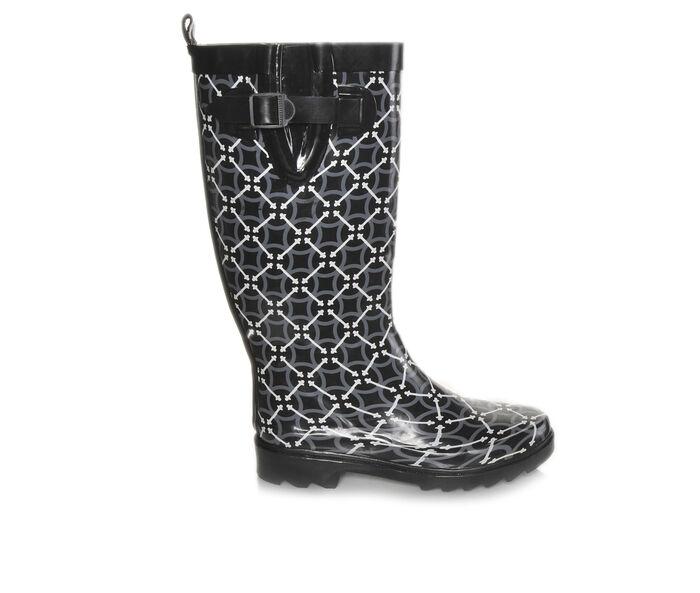 Women's Capelli New York Circle Pattern Rain Boots
