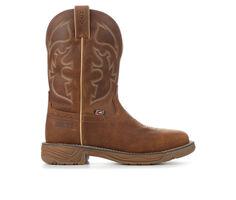 Men's Justin Boots WK4331 Rush Rustic Waterproof Steel Toe Cowboy Boots