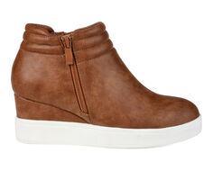 Women's Journee Collection Remmy Wedge Sneakers