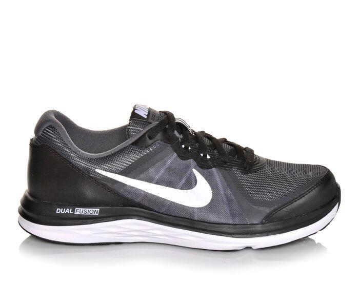 Boys' Nike Dual Fusion X2 3.5-7 Running Shoes